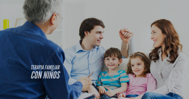 terapia familiar con niños
